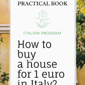 "Practical book ""House for 1 Euro"""